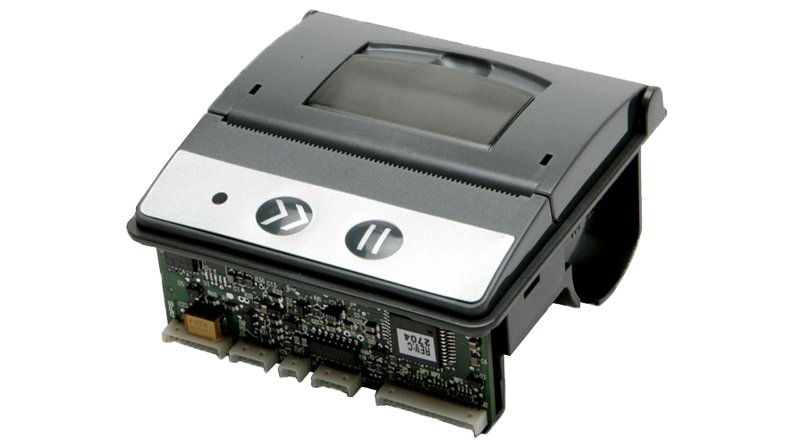 APS EPM203-MRS-E Easy Load Panel Mount Thermal Printer