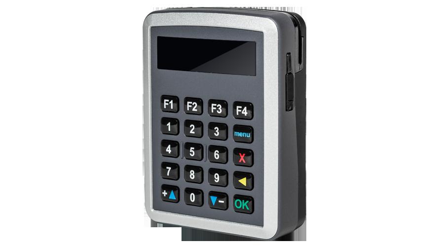 GlobalCom GP1000 Portable Card Reader Mobile