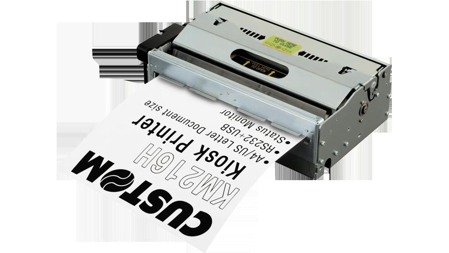Custom KM216 A4 8.5 in thermal printer