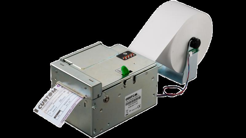 Custom KPM302 Thermal ticket printer fan fold
