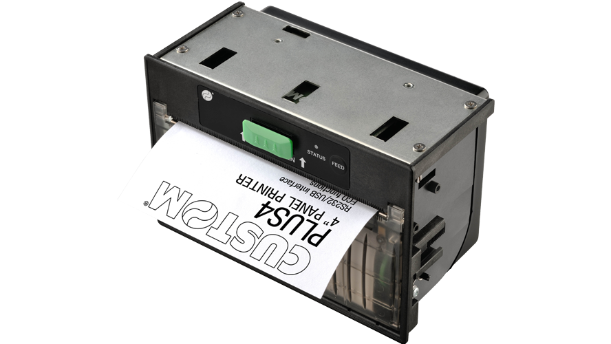 Custom PLUS 4 thermal panel printer