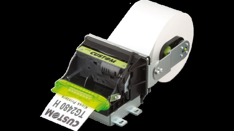 Custom TG2480H Thermal Kiosk Printer Serial USB 24V Cutter