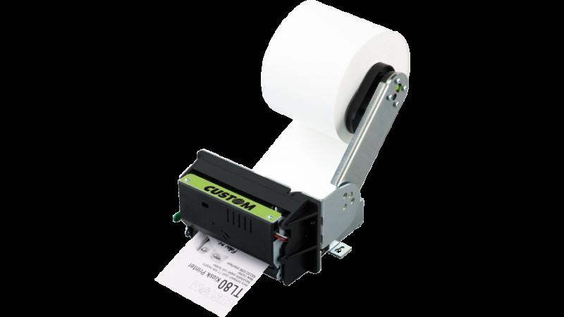 Custom TL80 Thermal Kiosk Printer Serial USB 24V Cutter 80mm