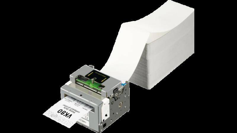 Custom VK80 Thermal Kiosk Printer Serial USB 80mm Cutter 24V