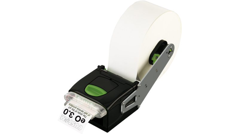 custom eo 3.0 Thermal printer fan fold