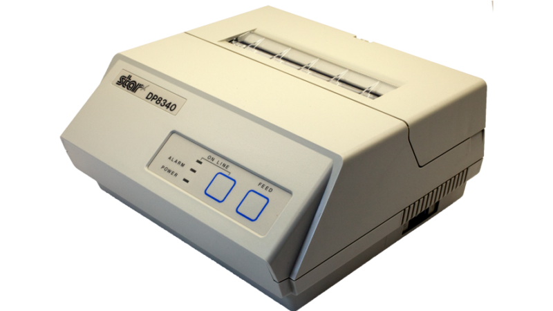 Star Micronics DP8340 4 in impact printer