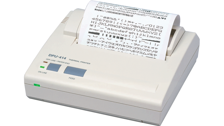 seiko DPU414 4 in portable thermal dot printer