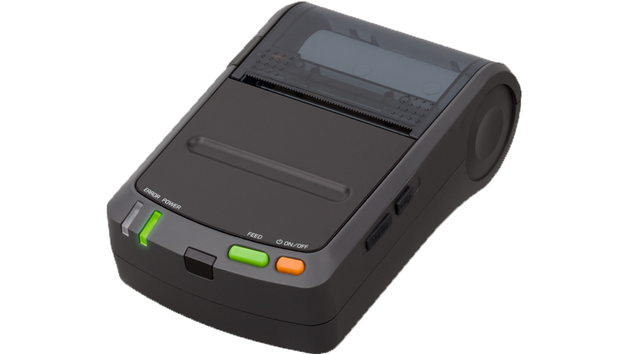 seiko DPU-S245 2 in portable mobile thermal printer