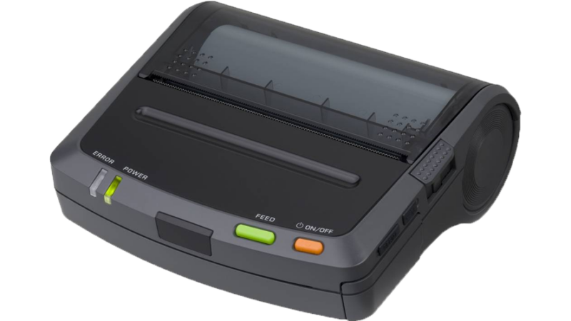 seiko DPU-S445 4 in portable thermal printer