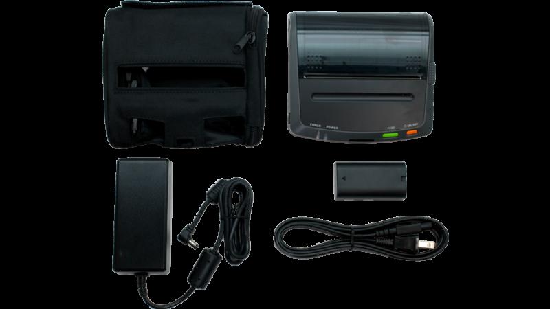 seiko DPU-S445 4 in portable thermal printer