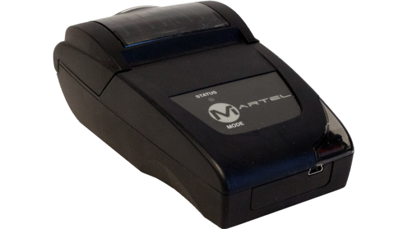 Martel MCL 1000 1010 1020 MCP 1880 usb serial irda logger 2in portable thermal printer