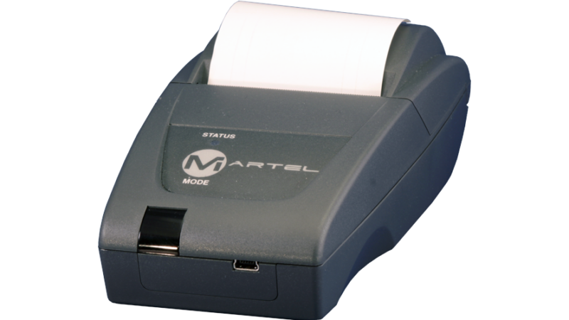 Martel MCP 7810 7830 7850 7870 7880 usd serial irda 2in portable thermal printer