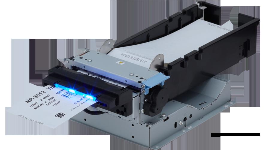 Nippon Primex NP3512 Thermal Kiosk Ticket printer usb serial cutter