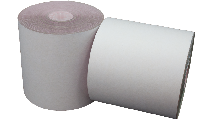 3 in x 3 in bond impact paper 3 ply white yellow pink