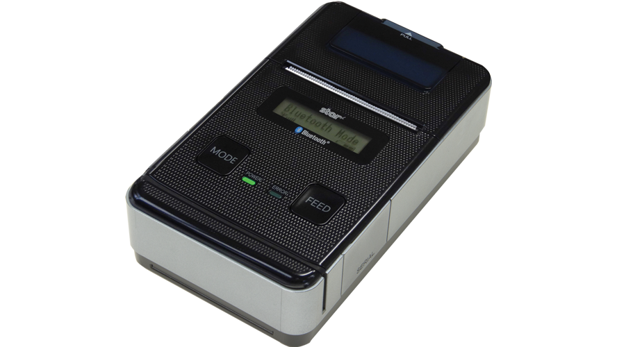 star micronics SM-S220i 2 in portable thermal printer bluetooth
