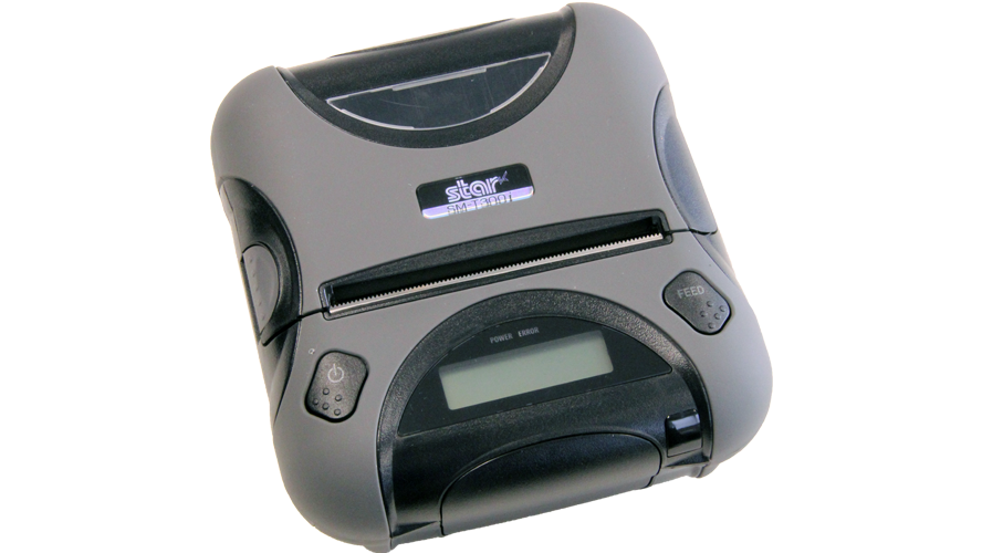 star micronics SM-T300 3 in portable thermal printer rugged ios bluetooth