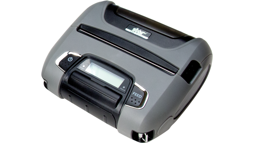 star micronics SM-T400I 4 in portable thermal printer ios bluetooth rugged