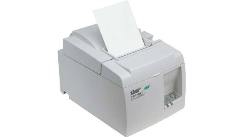 Star micronics tsp143 eco thermal printer pos receipt