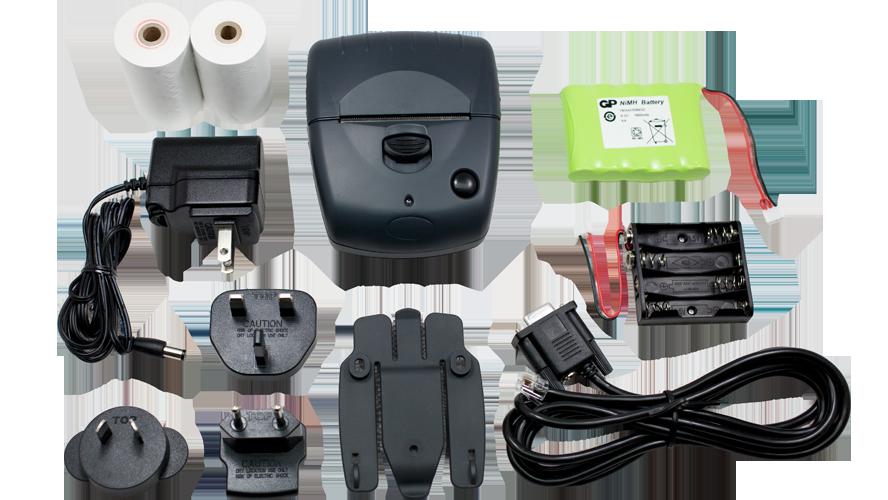 Able Systems AP1300 Kit Bluetooh portable thermal printer