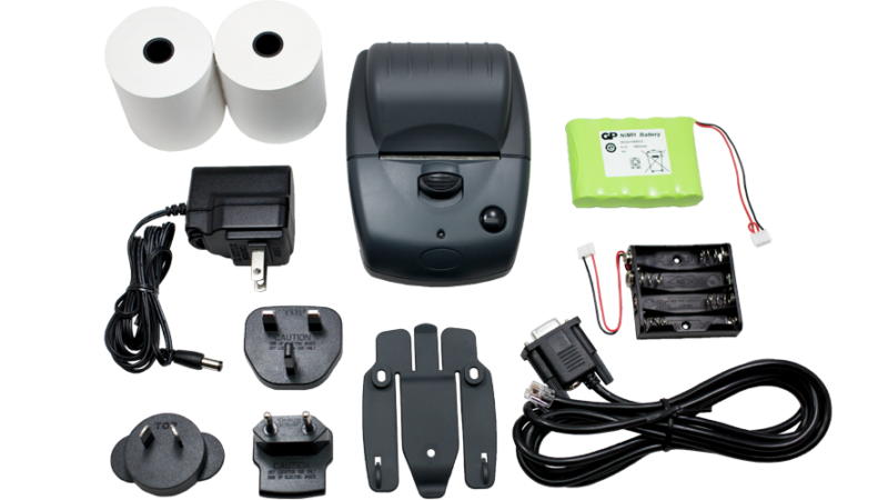 Able Systems AP1310 Kit Portable thermal label printer