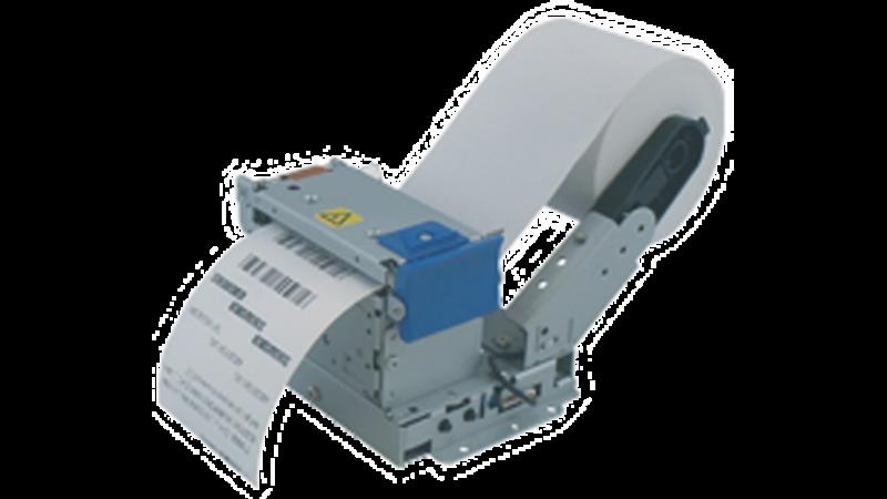 Sanei SK1-21SF2-LQP Kiosk Printer 2in 58 mm thermal printer presenter