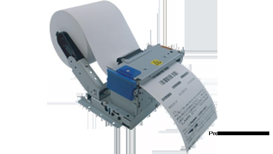 Sanei SK1-31SF4-LQP Kiosk Printer 3 in 80 mm thermal printer presenter