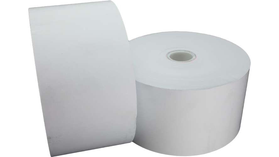 "tp80-6-354 thermal paper roll 20lb 80mm 6"" 6in"